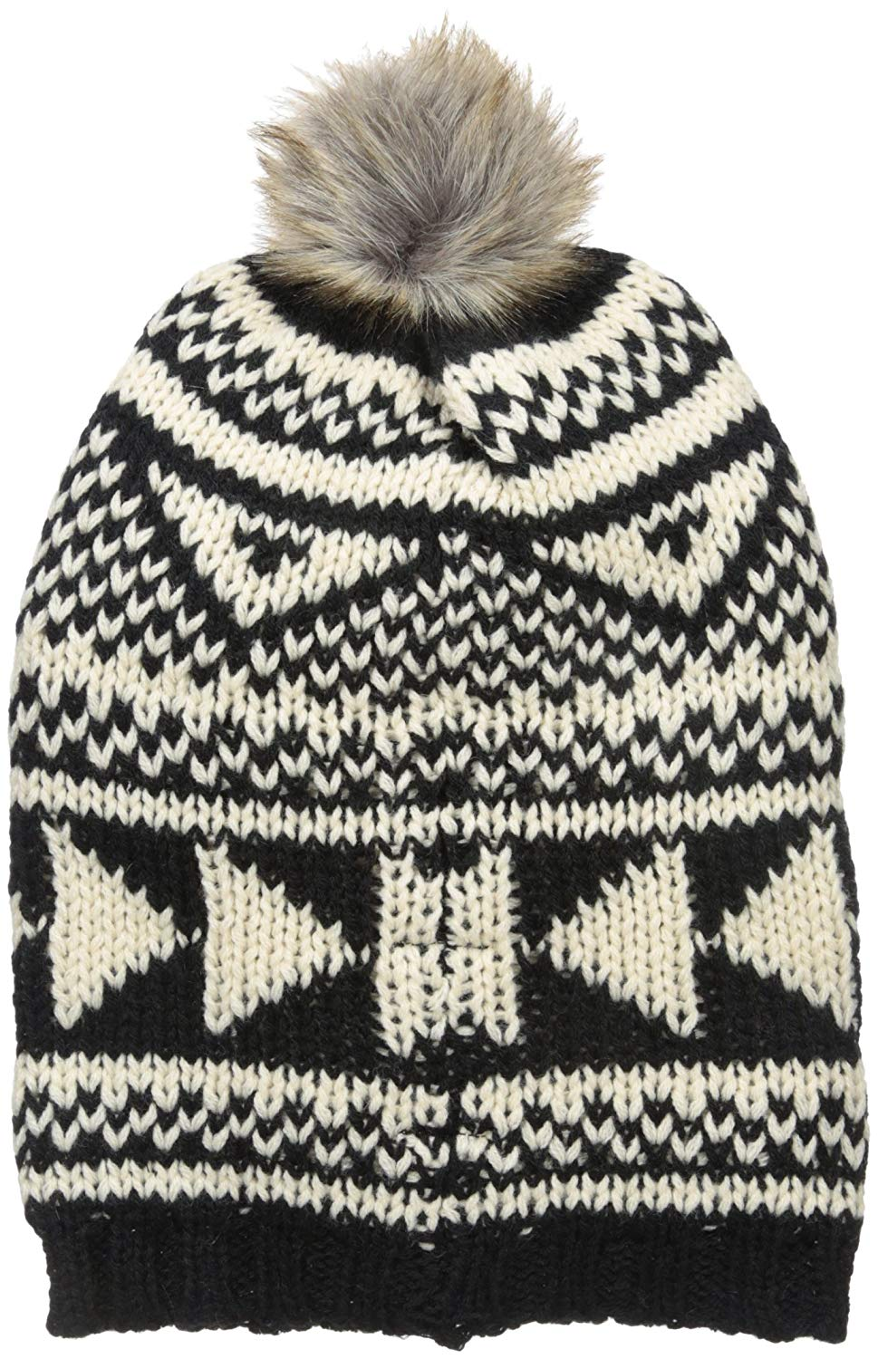 09d978e04bf Get Quotations · Woolrich Women s Geometric Slouchy Hat
