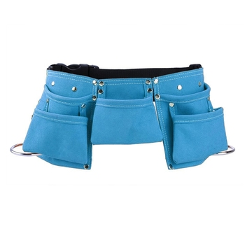 Leather Kids Tool Belt Child's Tool Pouch for Costumes Dress Up Role Play