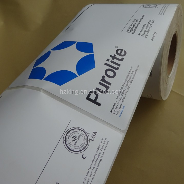 Free shipping private label sticker printing
