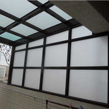 Glass roof toughened safety skylight 17.52mm tempered laminated glass