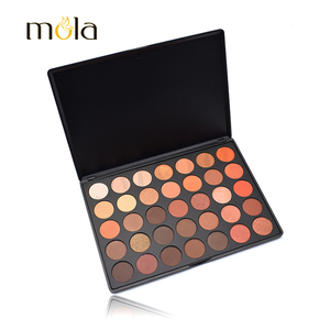 Hot sale makeup 35 color latest eye shadow wholesale high pigment cosmetics 35O
