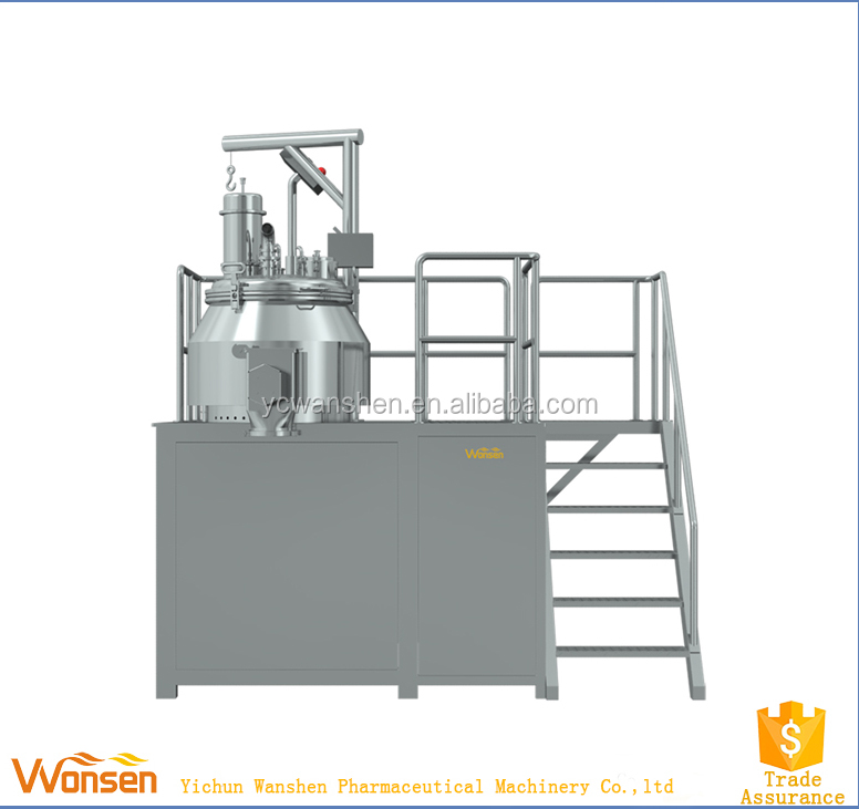 Rapid granules wet granulation machine with PLC / high rapid mixer granulator