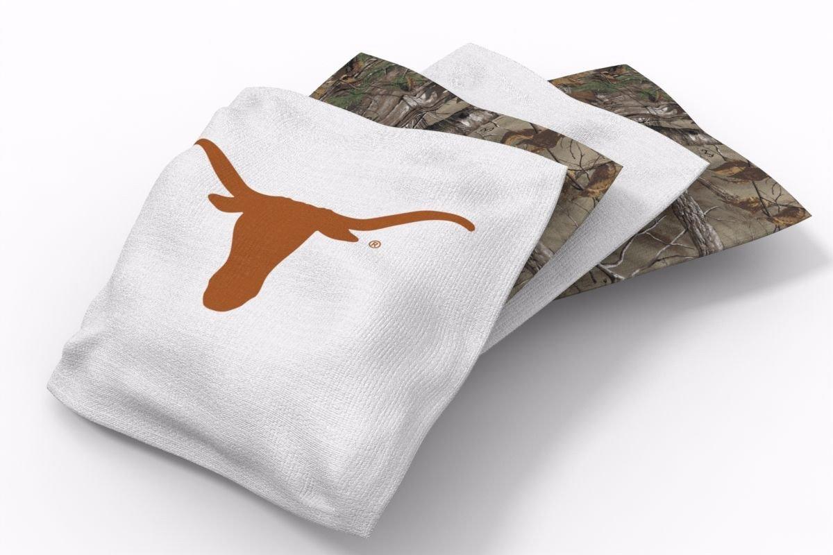 Texas Longhorns RealTree Camo Bean Bags-4pk (B)
