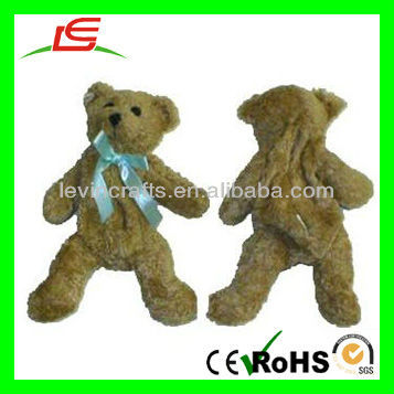 LE-D608 Unstuffed Teddy Bear 8 inch Plush Animal Gift - Fill with Aroma Beads