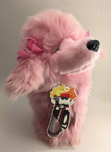 Stuffed Pink Poodle Hybrid Golf Head cover Plush Headcover Golf Club