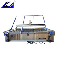 Small used waterjet equipment cutting metal machine price