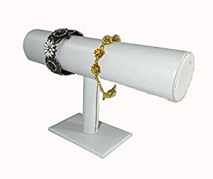 Fixture Displays White Jewelry Bracelet Watch Show Display Rack Holder Stand 15439WT 15439-WHITE