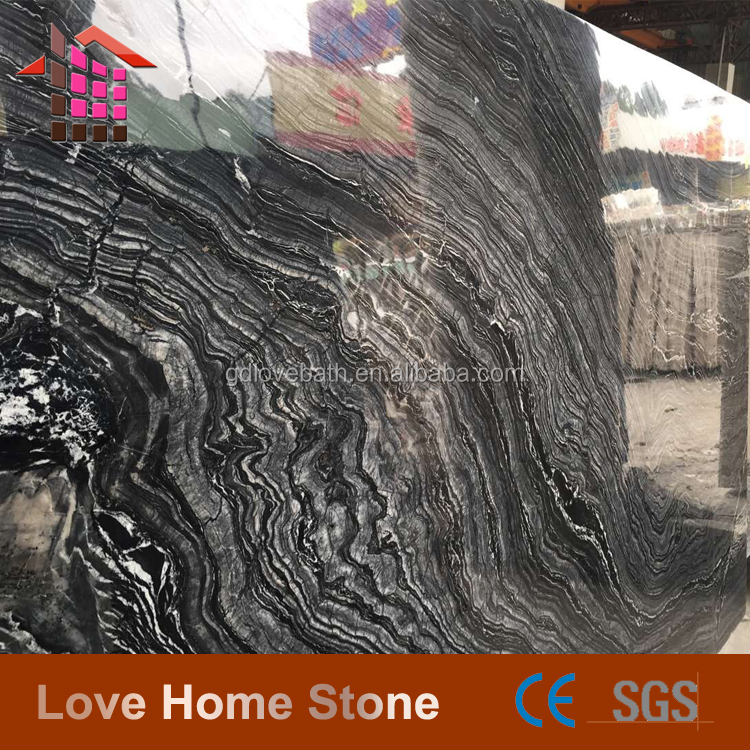 Traditional Antique Wood Grain Flooring Marble for decking