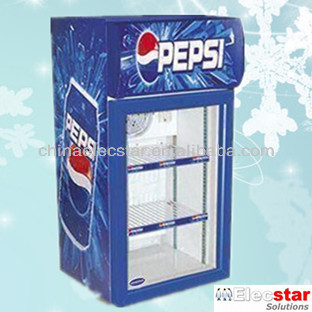 Mini Bar Fridge Cooler Beer Bottle Cooler Pepsi Display