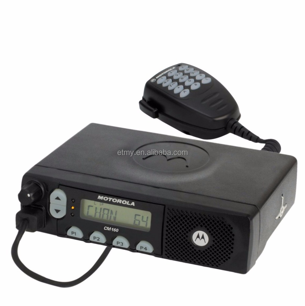 Wholesale Motorola 25 Watts Uhf Vhf Car Radio Cm160,Long Range Base Walkie  Talkie Need Wireless Cb Antenna - Buy Car Radio With Sim Card,Smart Car