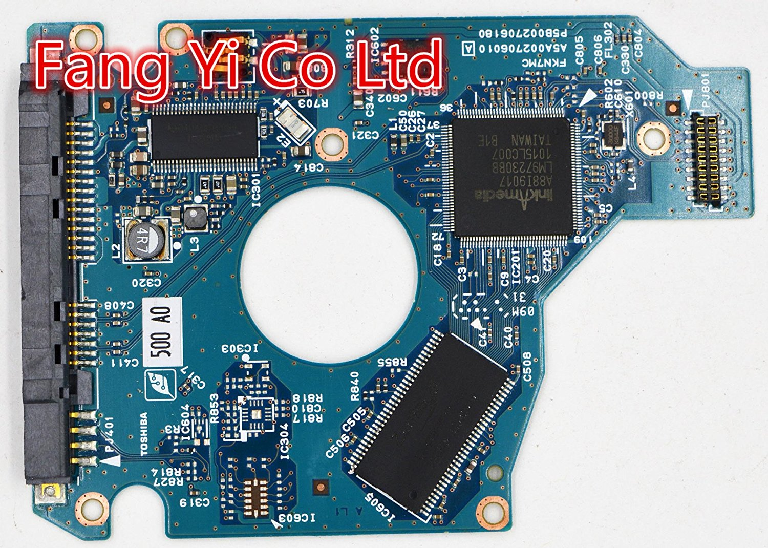 HDD PCB for Toshiba /Logic Board/Board Number: G002706A / HDD2H83,HDD2D30,HDD2H81,HDD2L53,HDD2J12,HDD2J13,HDD2H85,HDD2H84,HDD2L52