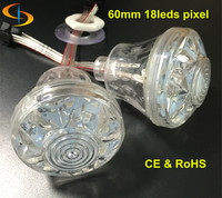 rgb led pixel festoon light 60mm