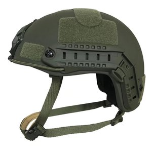 OD NIJ Level IIIA 3A FAST High Cut Military Aramid Ballistic Bulletproof Tactical Helmet