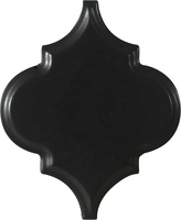 Kitchen Backsplash 3D Black Arabesque Lantern Ceramic Wall Mosaic Tiles
