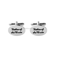 Factory costume jewelry Mens cuff links father of the groom/bride Wholesale