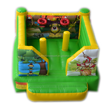Mini inflatable bouncer indoor jumping trampoline for home