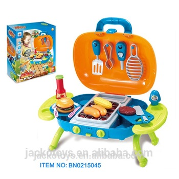 Cooking Toys Bbq Grill Set Oven