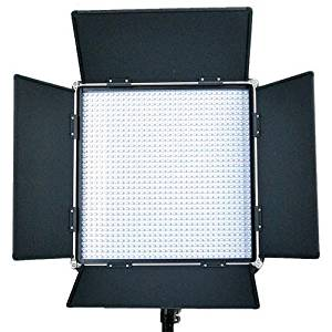 Came-TV L1024DB8 High CRI 1024 Dimmable Studio Broadcast Video Daylight LED Light, Includes 100-240V Worldwide AC Adapter, Soft Diffusion Panel, Tungsten Panel, Carry Bag