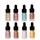 High Quality 8color Liquid Highlighters Rose Gold Popular Makeup Welcome OEM