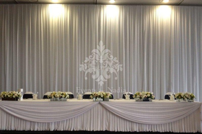 Dining Room Design Customer Wedding Stage Decoration Backdrop Stand