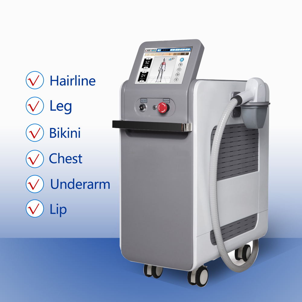 High Power Painless 808 Diode Laser Hair Loss Laser Equipment