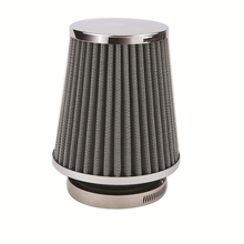Zwarte <span class=keywords><strong>Auto</strong></span> Air Filter 100mm Universele voor meest Voertuig
