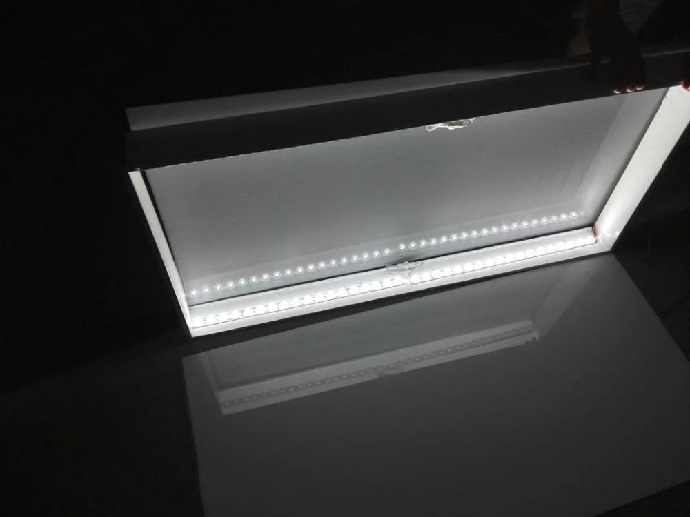 24 v seite beleuchtung led streifen starre f r doppelseitigen leuchtkasten mit dicke 6 8 cm. Black Bedroom Furniture Sets. Home Design Ideas