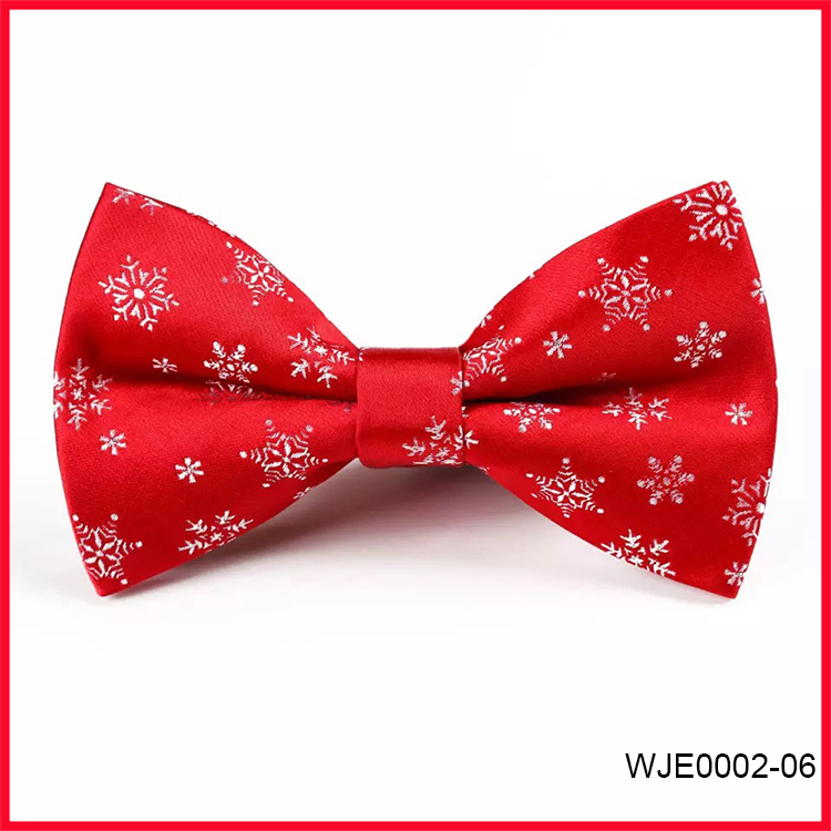 Wholesale 2018 Christmas Woven Bow Ties Gift for Men