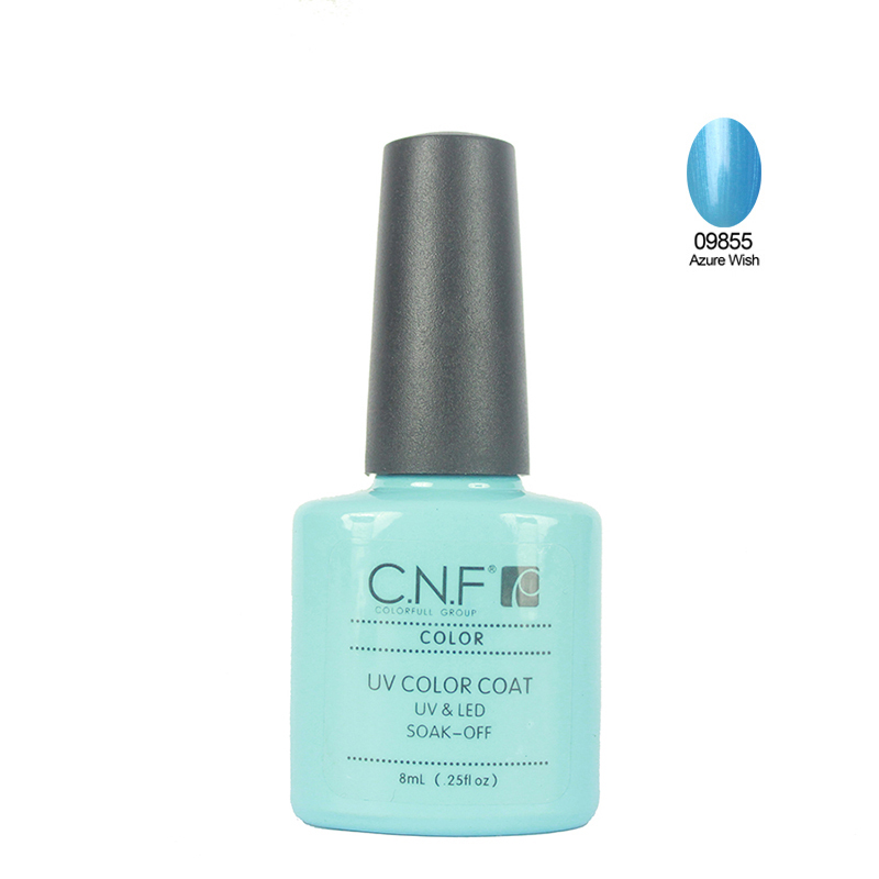 2015 New High Quality soak off gel polish Color 09855 Nail Gel Polish 1pcs 7 3ml
