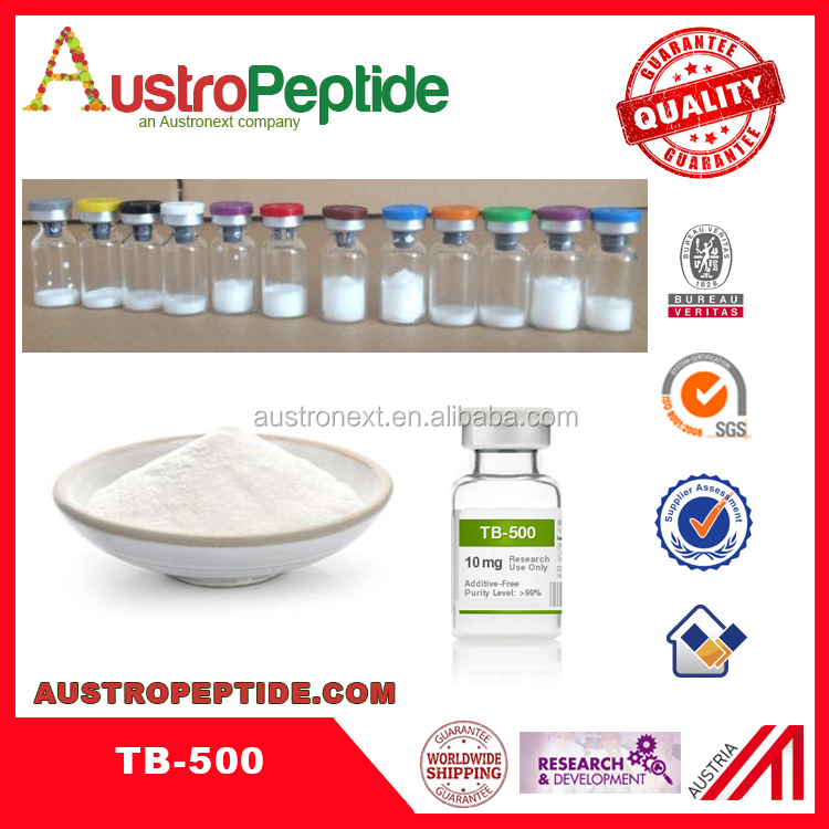 top peptides tb-500 2mg/vial high purity lab use from china