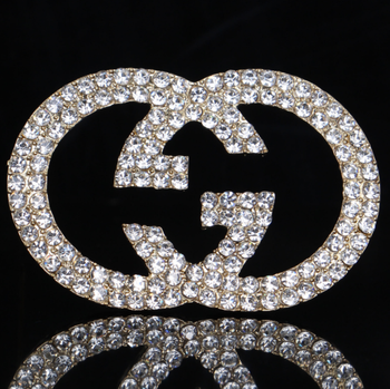 fashional jewelry many different letter diamond brooch