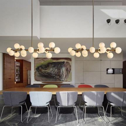 acheter creative or salle manger lustre moderne verre lampe suspendue. Black Bedroom Furniture Sets. Home Design Ideas