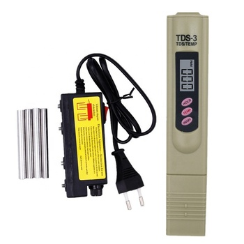 TDS Water Electrolyzer test + TDS Meter Tester temp temperature pen Filter Water Quality Monitor