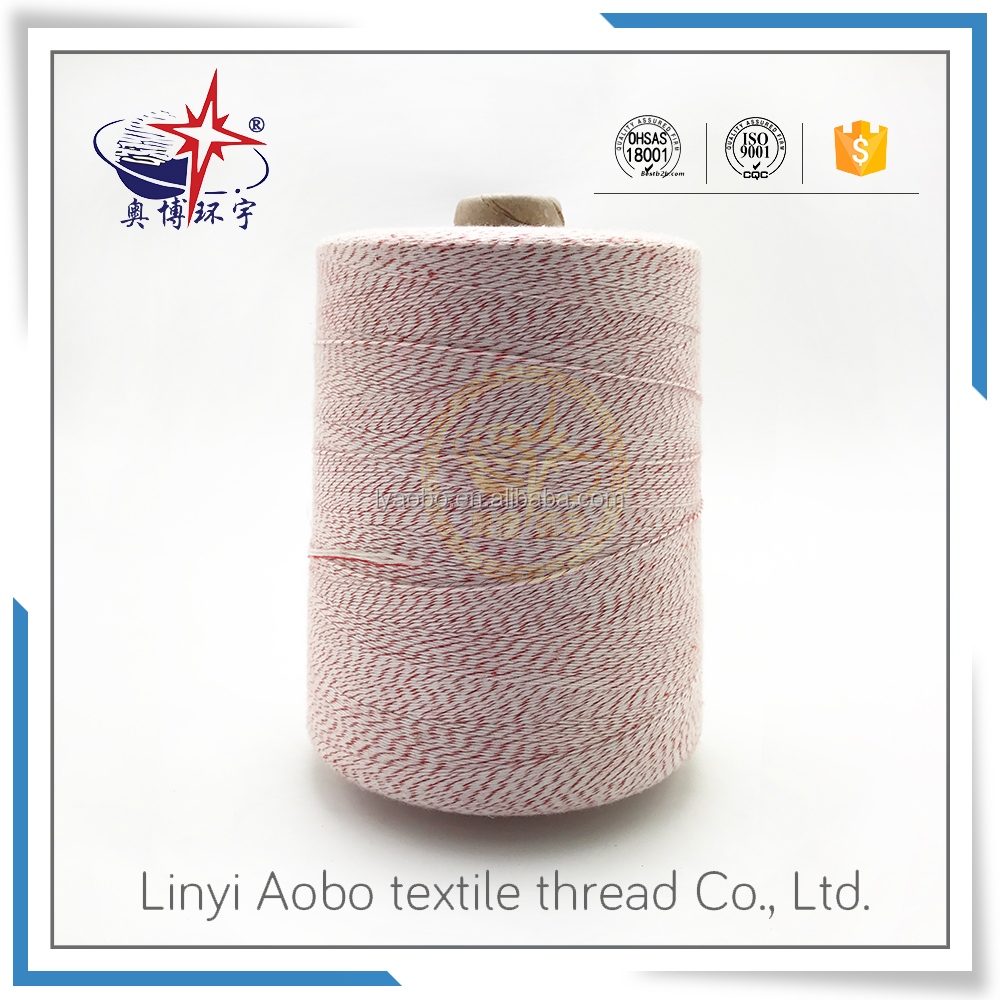 polyester bag sewing thread 20/6 bag stitcher good quality hot sale