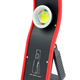 Rubber Handle Rechargeable 3W COB Slim Car Inspection Light Portable Working Lamp