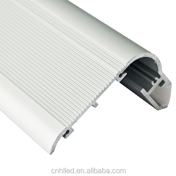 China supplier led aluminium profile stair nosing profile led step alu profile aluminium stair light channel