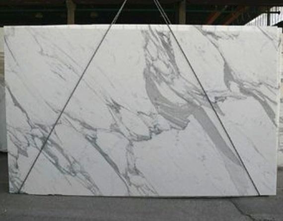 Италия белого мрамора statuario