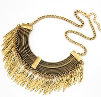 Gold Necklace Designs, PT1374 Wholesale Turkish Fashion Jewelry Alloy Charms Bohemian Gold Necklace Designs