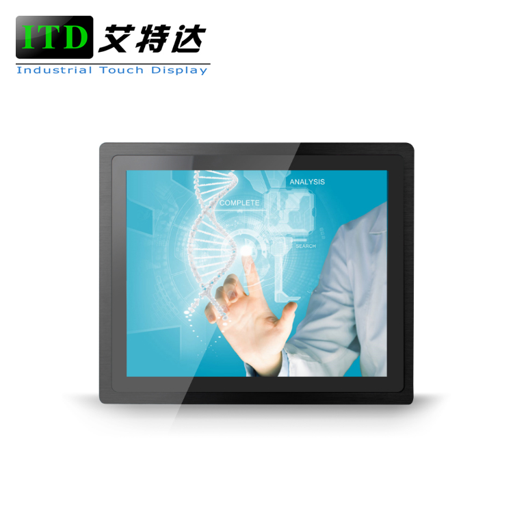15 zoll ture flache pcap kapazitiven touch panel pc, alle in einem touch panel pc mit aluminium panel für industrial control