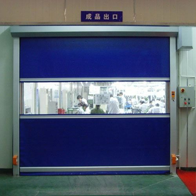 indian main door designs pvc Plastic High Speed roll up Door (HF-J172)