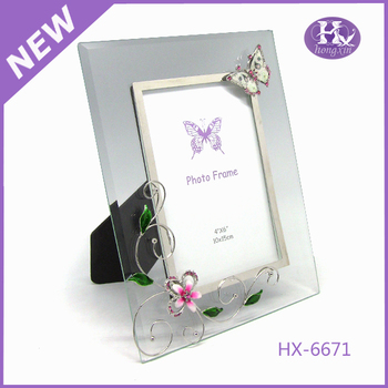Hx-6671 White Butterfly Glass Photo Frames Free Download - Buy Photo ...