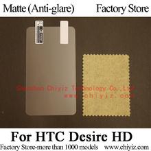 Matte Anti-glare Screen Protector Guard Cover protective Film Shield For HTC Desire HD G10 A9191 Inspire 4G 011HT