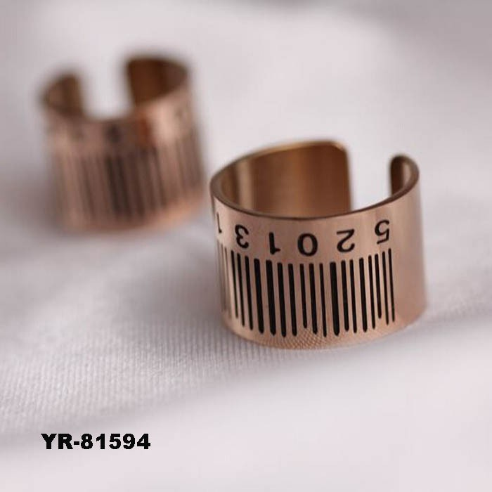 1 piece Women or Men Alloy Couple Open Ring Jewelry