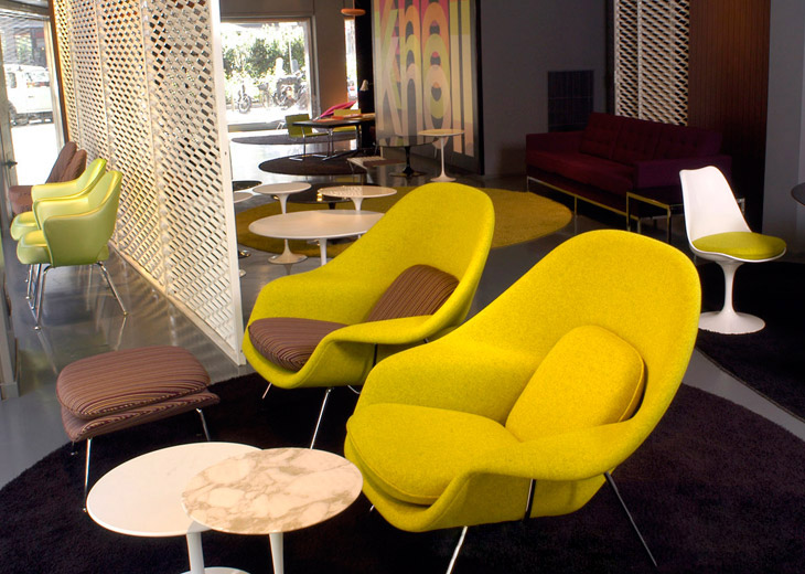 Replica Eero Saarinen Womb Lounge Chair And Ottoman - Buy Lounge ...
