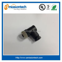 3 pin Right angle M12 connector wih IP67 or IP68 water prevent