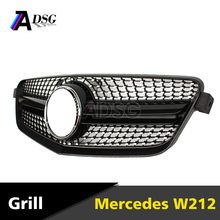 <span class=keywords><strong>Mercedes</strong></span> <span class=keywords><strong>classe</strong></span> <span class=keywords><strong>E</strong></span> W212 diamante stile Paraurti anteriore grill ABS 2010-2013