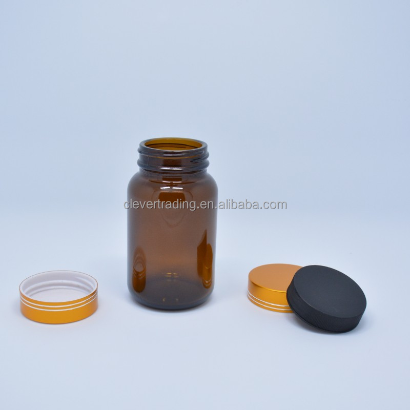 150ml amber pharmaceutical glass bottles with screw cap