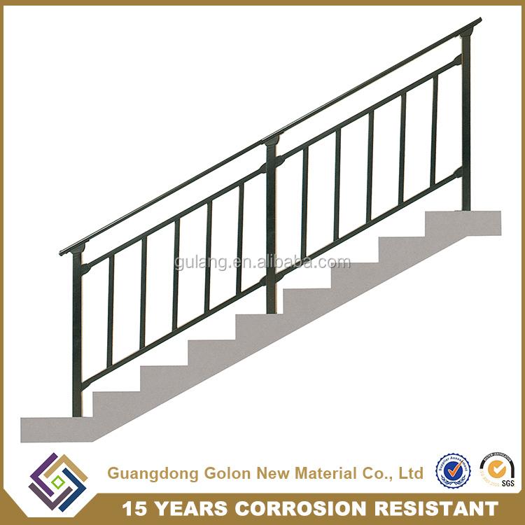 Rampes d 39 escalier en plein air prix ext rieure balustrades for Main courante escalier exterieur
