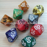 High Quality Bulk Dice Wholesale,10 Sided Custom Dice RPG Game Dice Set Factory