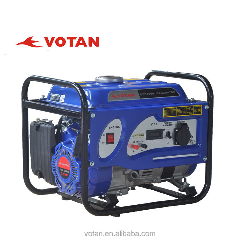 Gasoline generator 1KW, 100% copper used,frame type